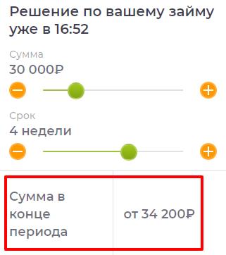 Погашение займа до 30000 рублей в Кредит 911