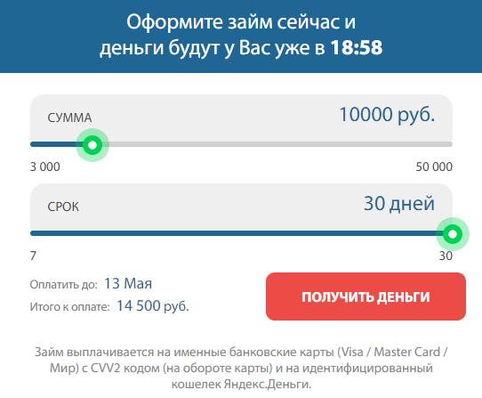 турбозайм официальный сайт телефоны