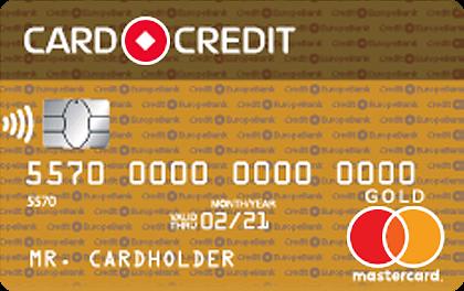 Кредитка Кредит Европа CREDIT GOLD