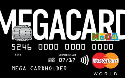 Кредитка Кредит Европа Банк MEGACARD