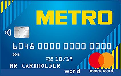 Кредитка Кредит Европа Банк METRO
