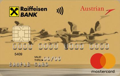 Кредитка Райффайзен Austrian Airlines