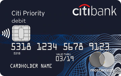 Дебетовая карта Ситибанк Priority