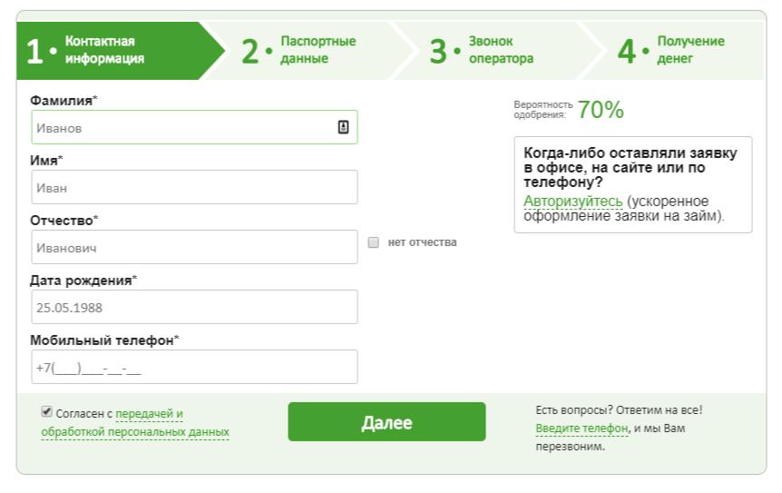 Доброзайм (centrzaimov)
